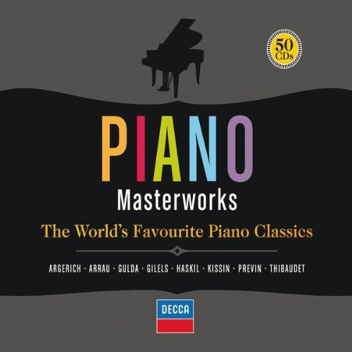Piano Masterworks: The World's Favourite Piano Classics (50 CD box set, APE)
