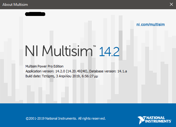 NI Circuit Design Suite 14.2 multisim